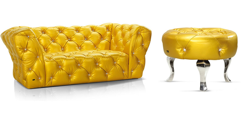Luxury Furniture With Swarovsky Crystals By Bretz