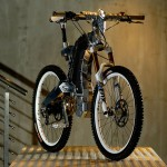 M55 Beast Electric Bike – Living Tissue on an Exoskeleton