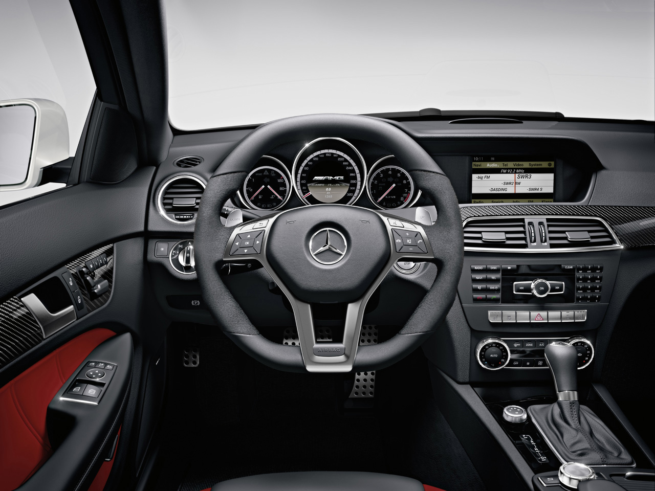 Mercedes-Benz C63 AMG Coupe Ready for New York Auto Show