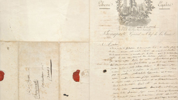 Napoleon's Love Letter Auctioned In Moscow