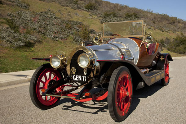Original Chitty Chitty Bang Bang Car