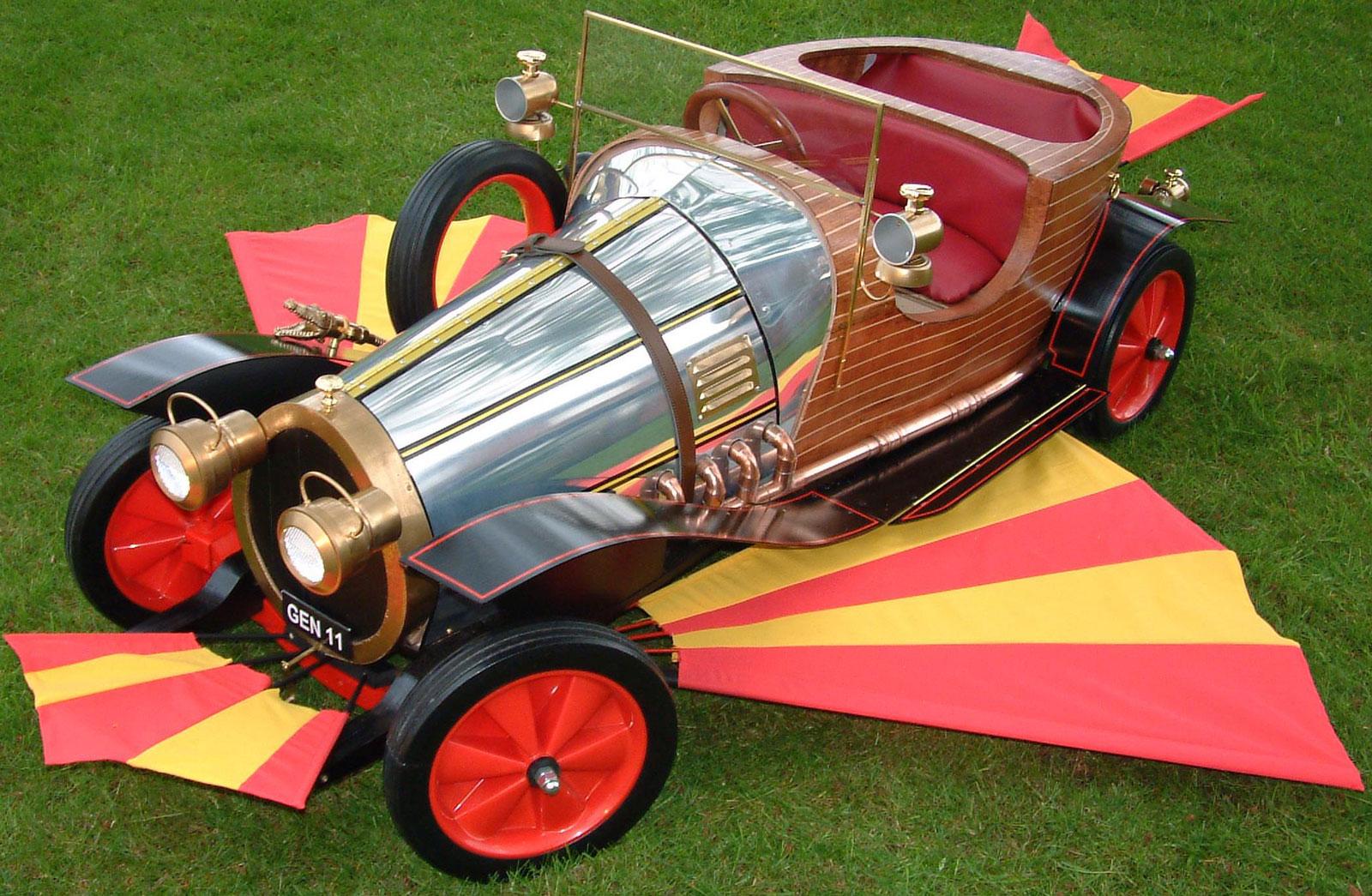 Original Chitty Chitty Bang Bang Car