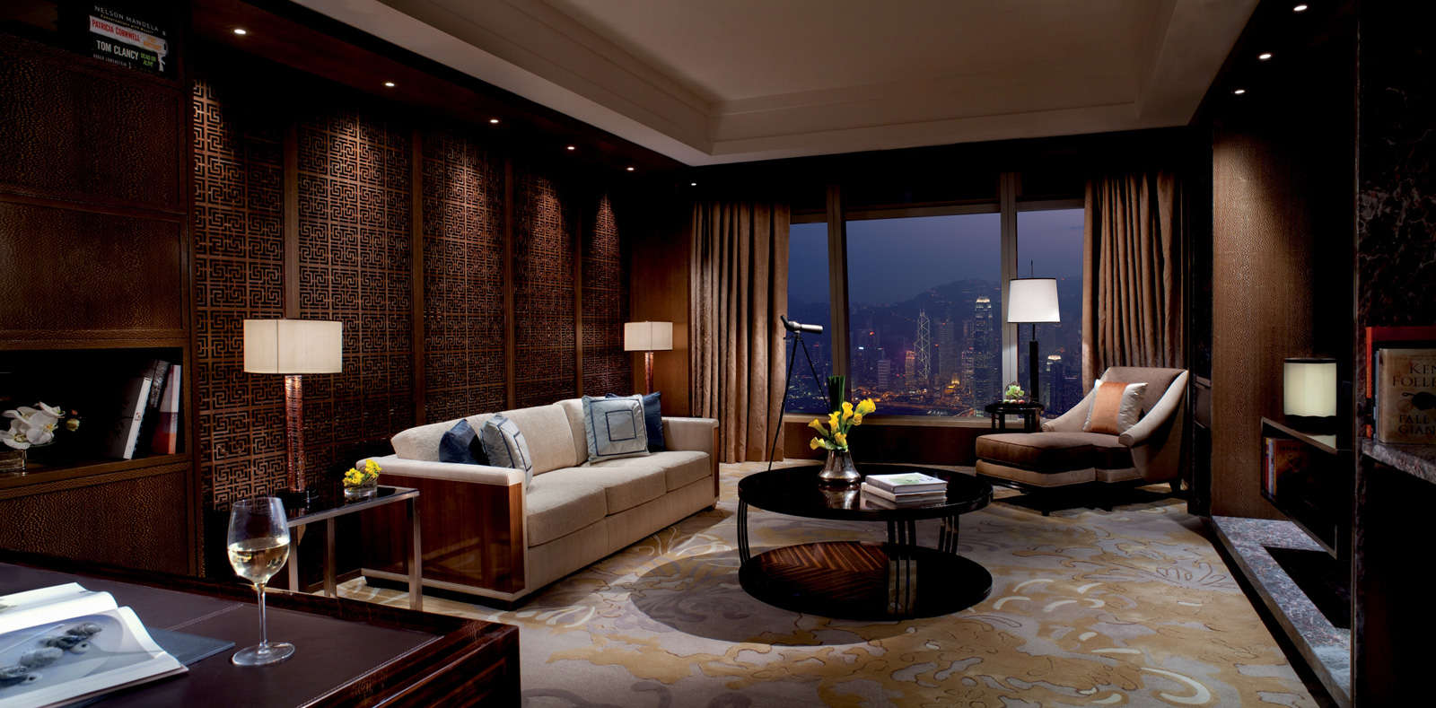 Premier Executive Suite at The Ritz-Carlton, Hong Kong
