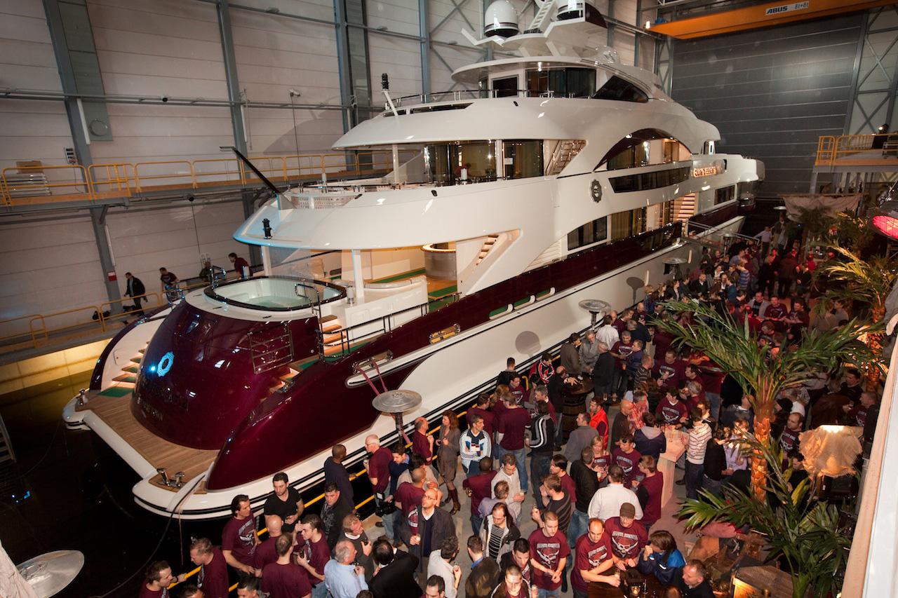 Launch of Quinta Essentia Yacht (Photo credit to Emilio Bianchi)