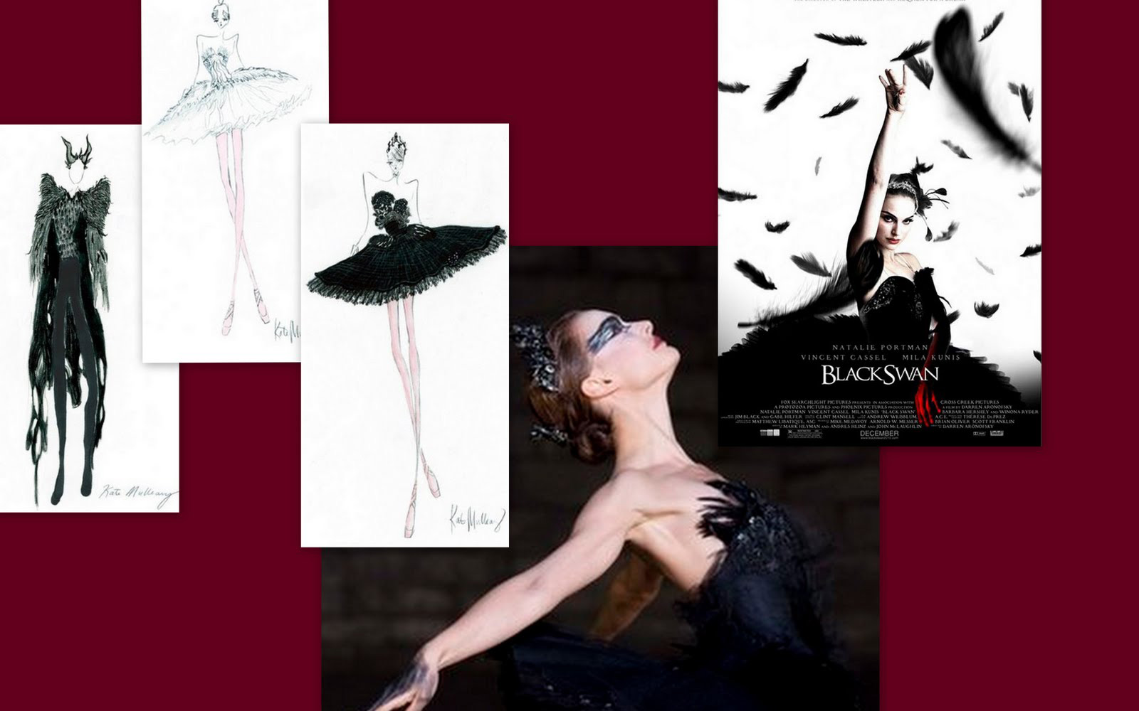 Rodarte Black Swan Costume
