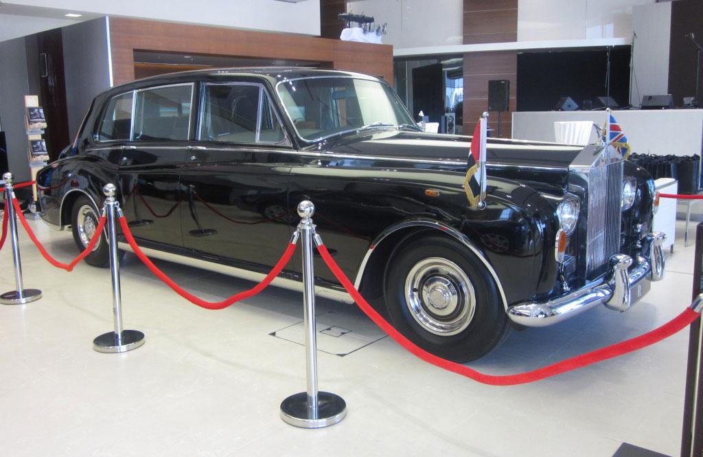 Rolls-Royce Flagship Showroom in Abu Dhabi