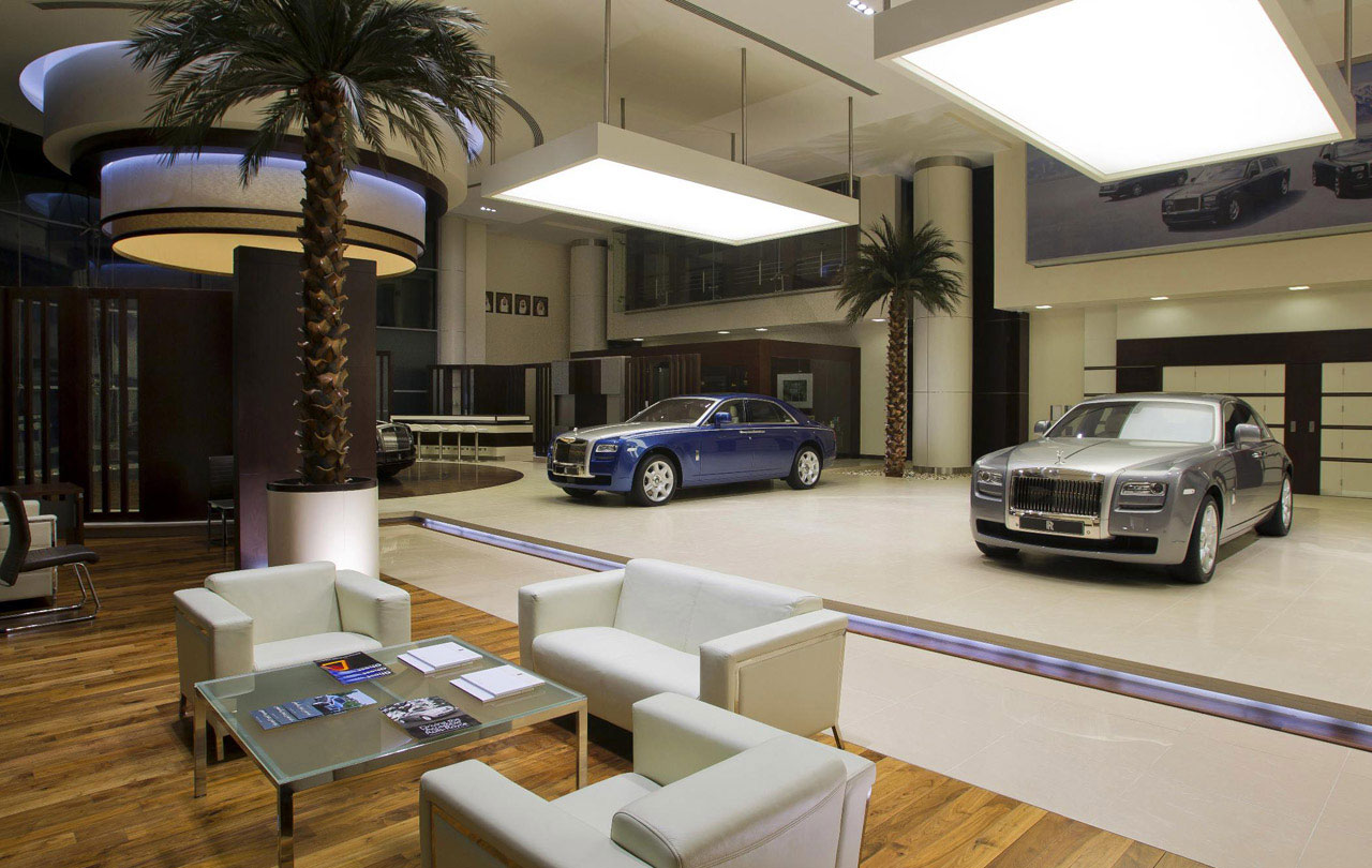 Rolls-Royce Flagship Showroom in Abu Dhabi