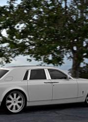 Rolls-Royce Phantom Project Kocaine – First Matte White Rolls-Royce Phantom in the World