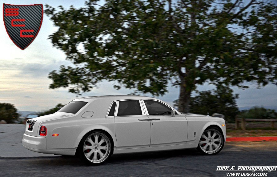 Rolls-Royce Phantom Project Kocaine – First Matte White Rolls-Royce Phantom in the World