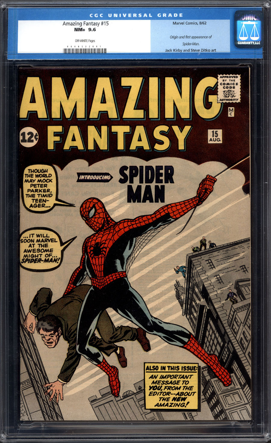 Spider-Man's Debut Comic