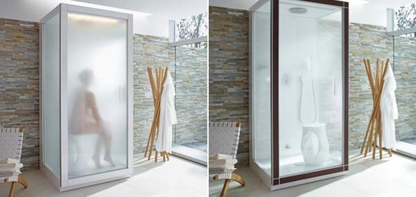 St. Trop By Philippe Starck – Minimalist Steam Shower Cabin