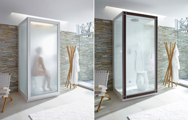 St. Trop By Philippe Starck – Minimalist Steam Shower Cabin