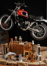 Steve McQueen's Husqvarna 400CR Motorcycle Up for Auction