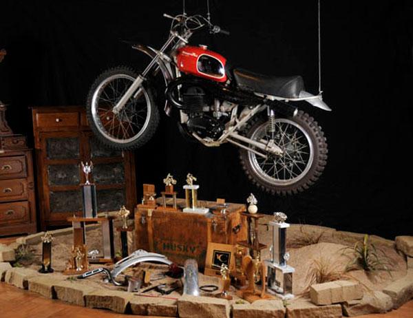 Steve McQueen's Husqvarna 400CR Motorcycle