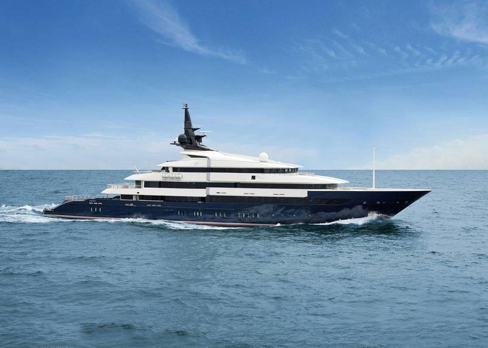 Steven Spielberg's New Seven Seas Yacht