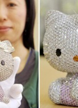 The World's Most Expensive Cat – Super Hello Kitty Jewel Doll