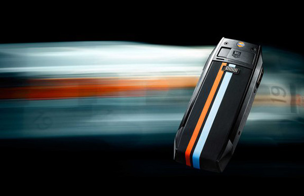 Special Edition TAG Heuer Meridiist Gulf Phone