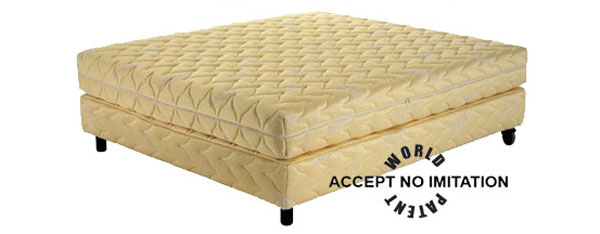 The Gold Mattress With a 22 Karat Gold Yarn Cover By Magniflex