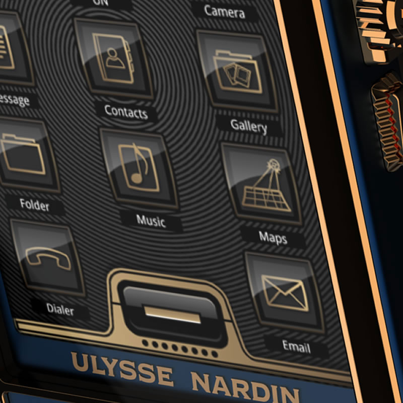 Ulysse Nardin Chairman &#8211; Worlds Most Expensive Phone to Debut at BaselWorld 2011