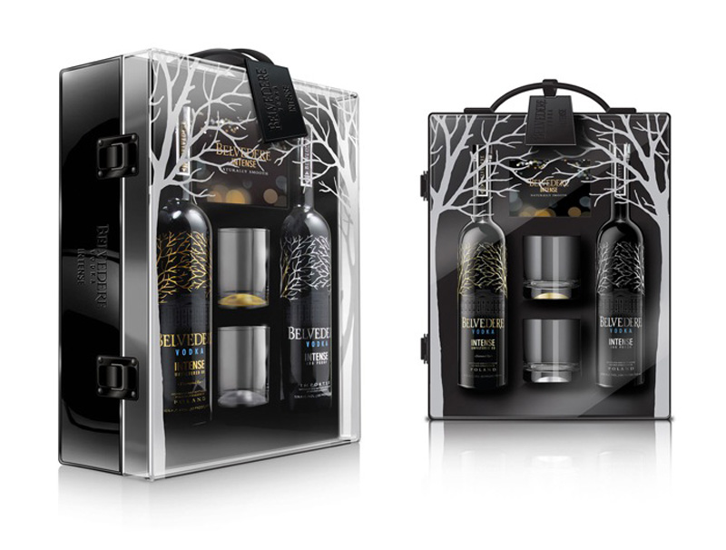 Belvedere VIP Flight Case Luxury Gift Pack
