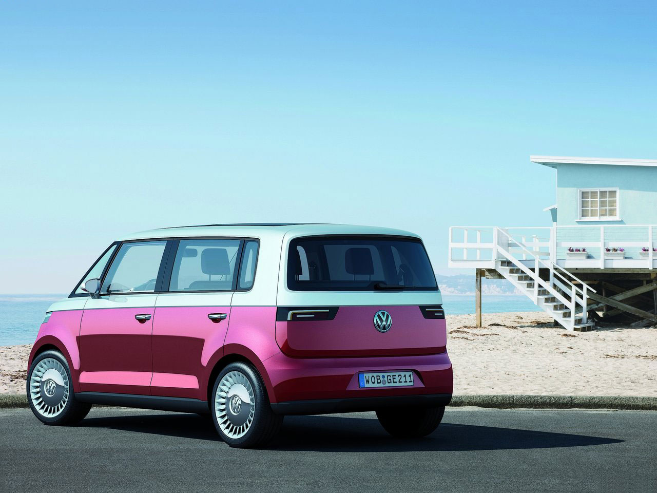 volkswagen unveils new vw bulli concept at geneva auto. Black Bedroom Furniture Sets. Home Design Ideas