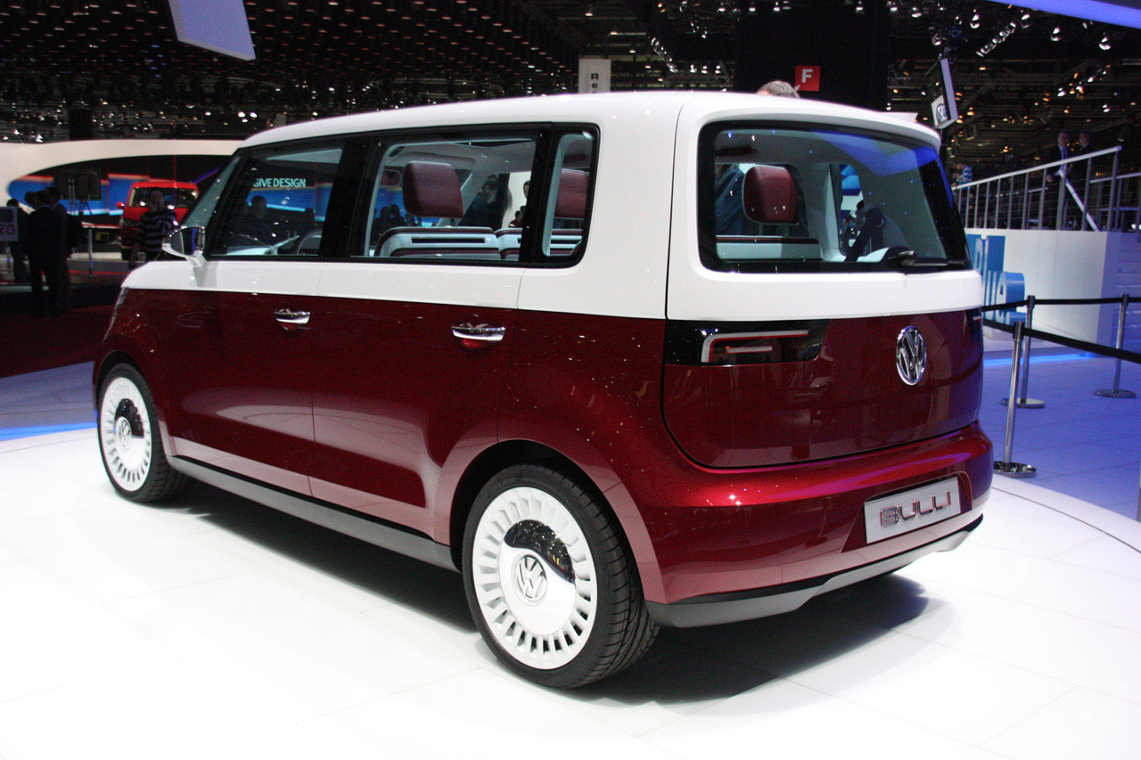 Volkswagen Unveils New VW Bulli Concept at Geneva Auto Show