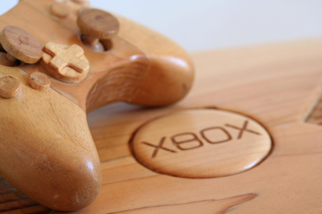 Ben Winfield's Wooden Xbox Console