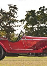 Zagato-bodied 1930 Alfa Romeo 6C 1750 GS Spider