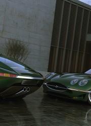 Limited Edition Growler Jaguar E-Type