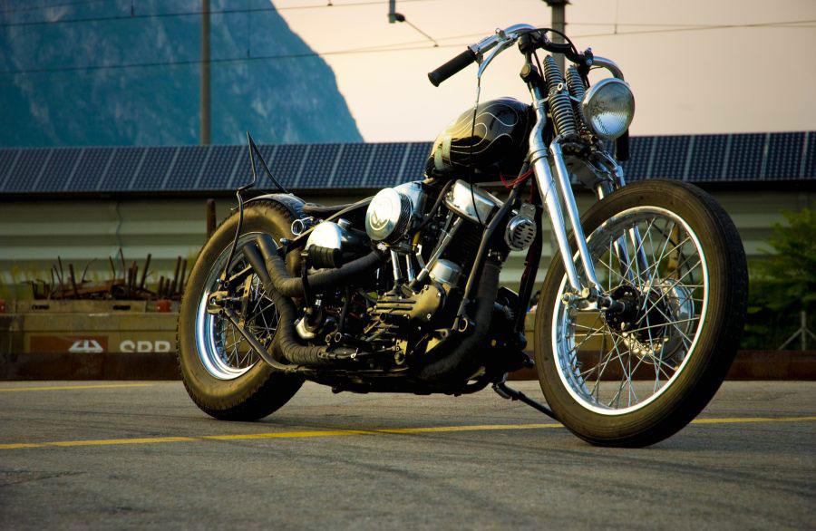 Custom Harley Davidson 1949 Panhead by DK Motorrad
