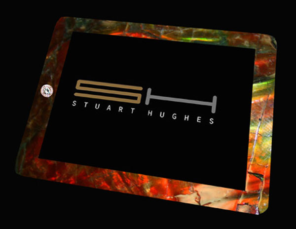 iPad2 Gold History Edition by Stuart Hughes