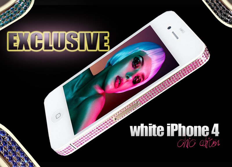 iPhone 4 White Chic Edition BY gOLDSTRIKER