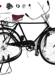 Damien Hirst With Other Contemporary Artists Design Bikes For ICA Gala