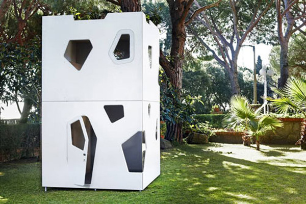 Playhouses By SmartPlayhouse &#8211; Luxury Architectural Place For Kids