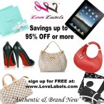LoveLabels – New Luxury Products Auction Site Coming In May 2011