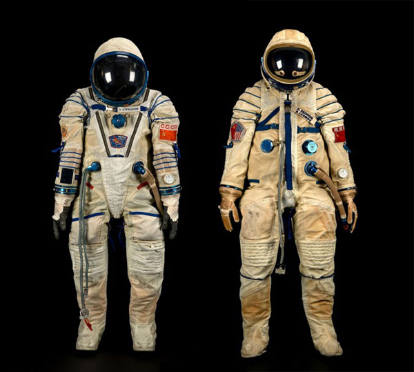 Two Second Hand Space Suits up for Sale at Bonhams ...