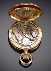 Rare Vacheron Constantin Gold Pocket Watch From 1889