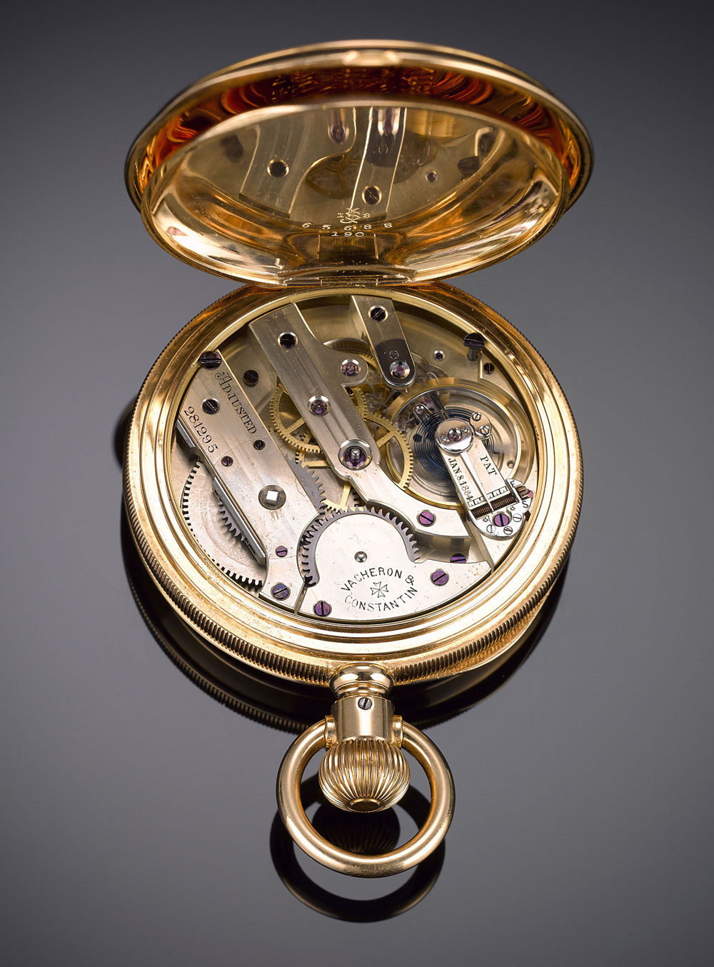1889 Vacheron Constantin Gold Pocket Watch