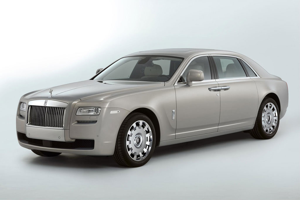 Rolls-Royce Ghost Extended Wheelbase for Customers Who Require Increased Space and Comfort