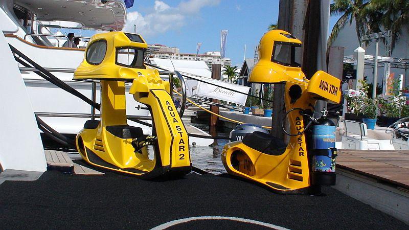 Aqua Star's Underwater Scooters