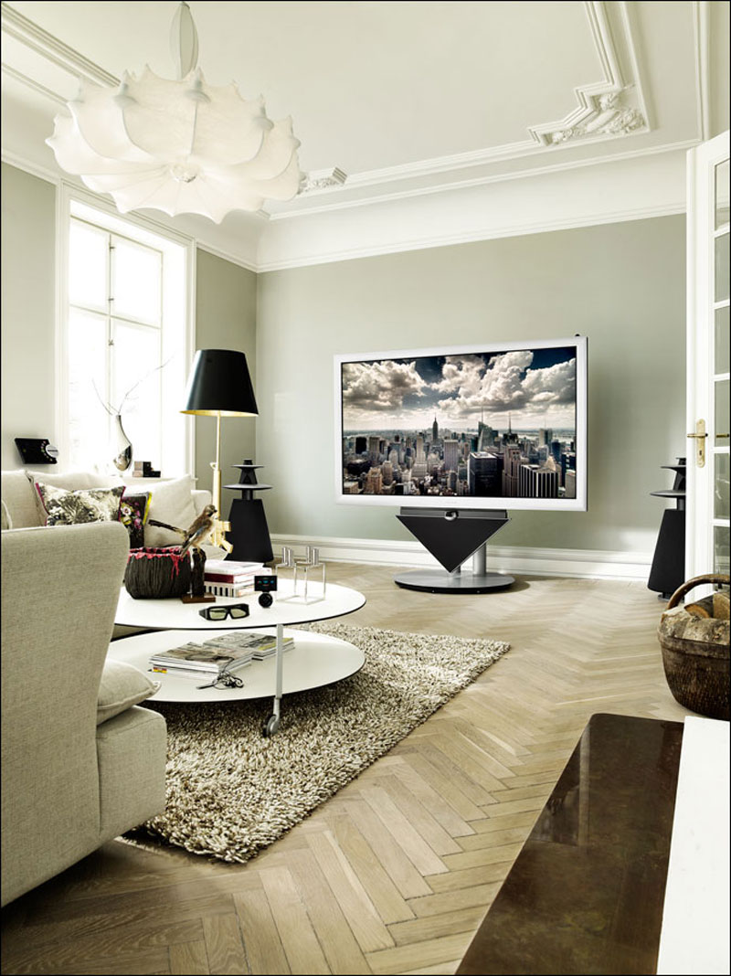 bang olufsen launches beovision 4 85 first 3d full hd. Black Bedroom Furniture Sets. Home Design Ideas