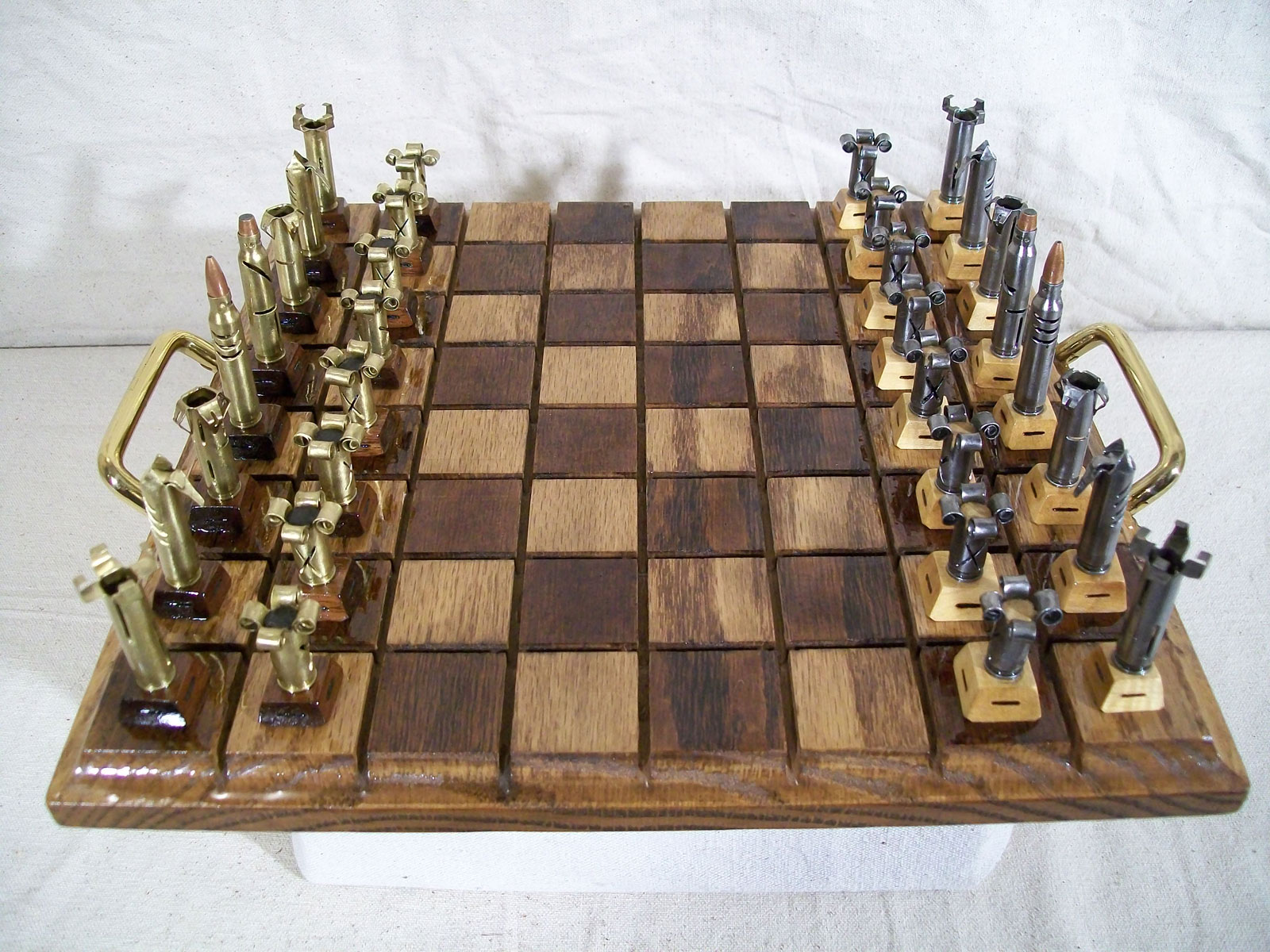 Caliber .223 - Bullet Chess set