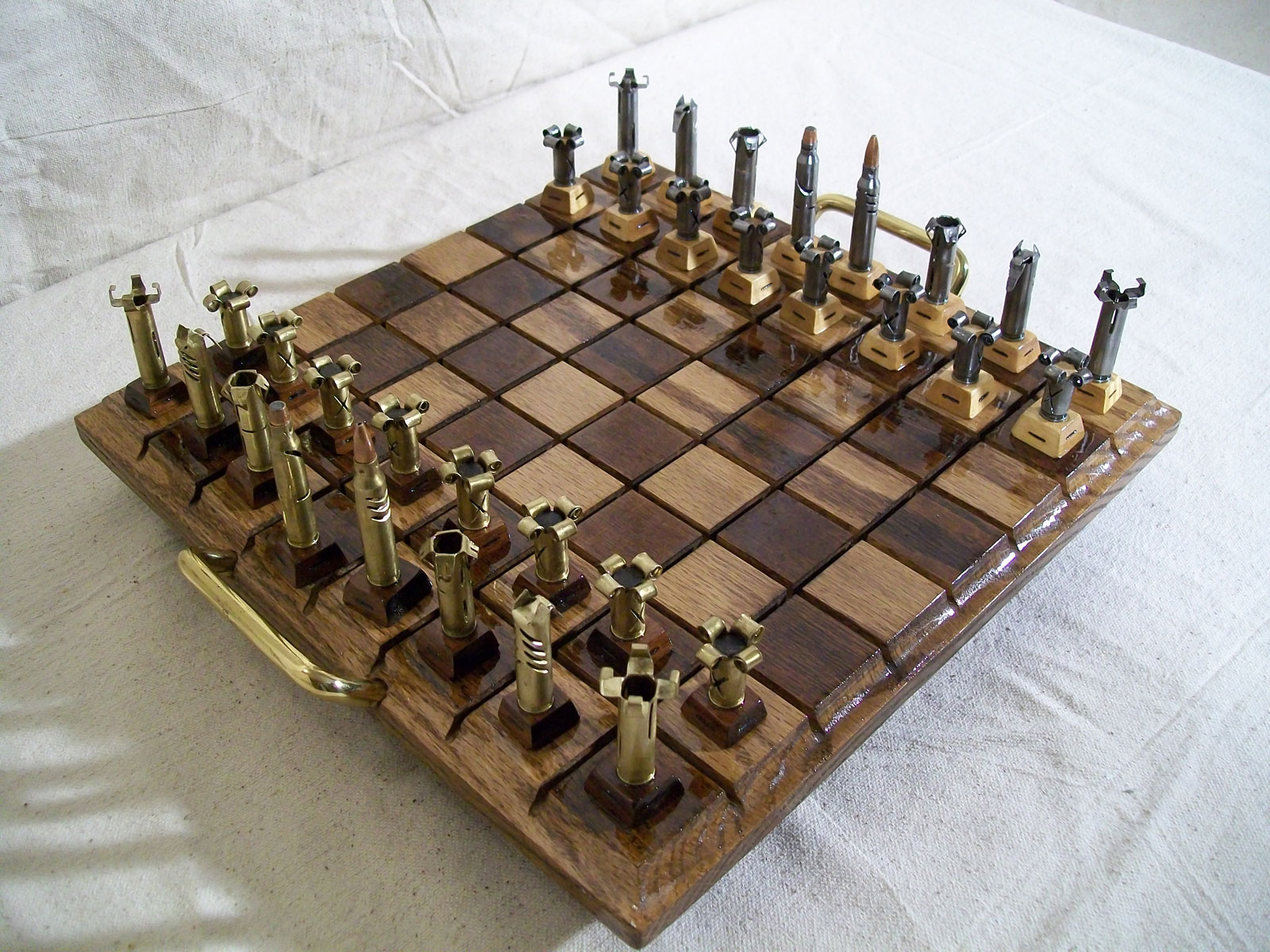 Caliber .223 - Bullet Chess set