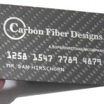 Show off Just How Wealthy You Truly are with a Carbon Fiber Business Cards
