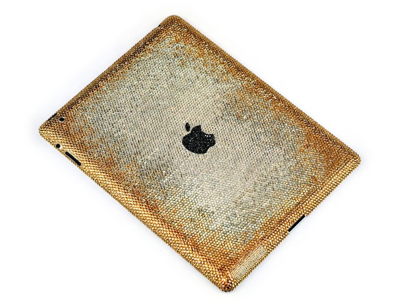 iPad2 Blooming Gold Edition by Crystograph