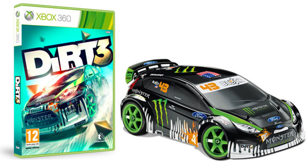 Limited Edition DiRT 3 with Traxxas Ken Block R/C Fiesta