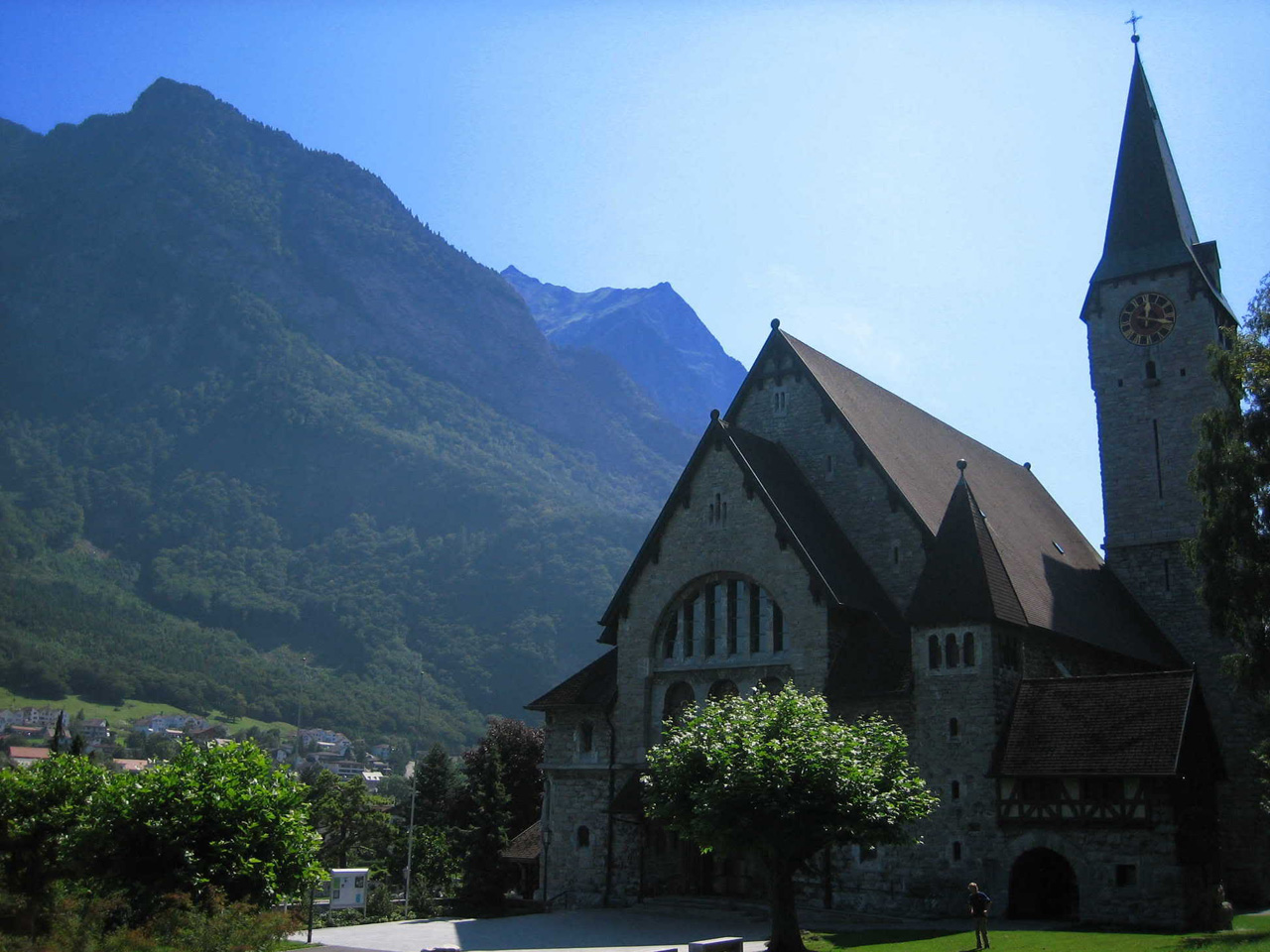 Ericand Balzers Church, Liechtenstein