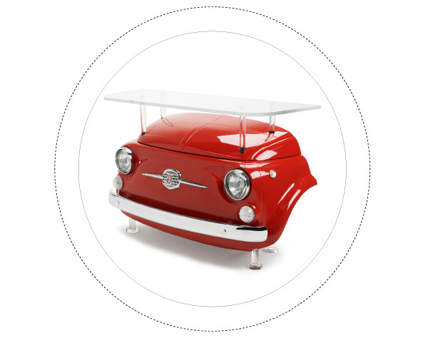 Fiat 500 Design Collection - Cin Cin Bar Counter