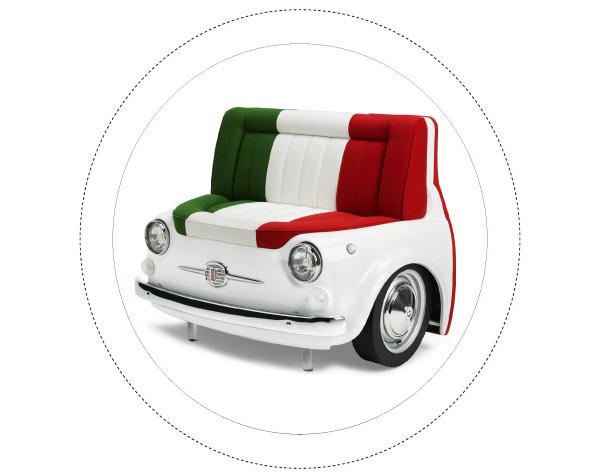 Fiat 500 Design Collection - Panorama Sofa