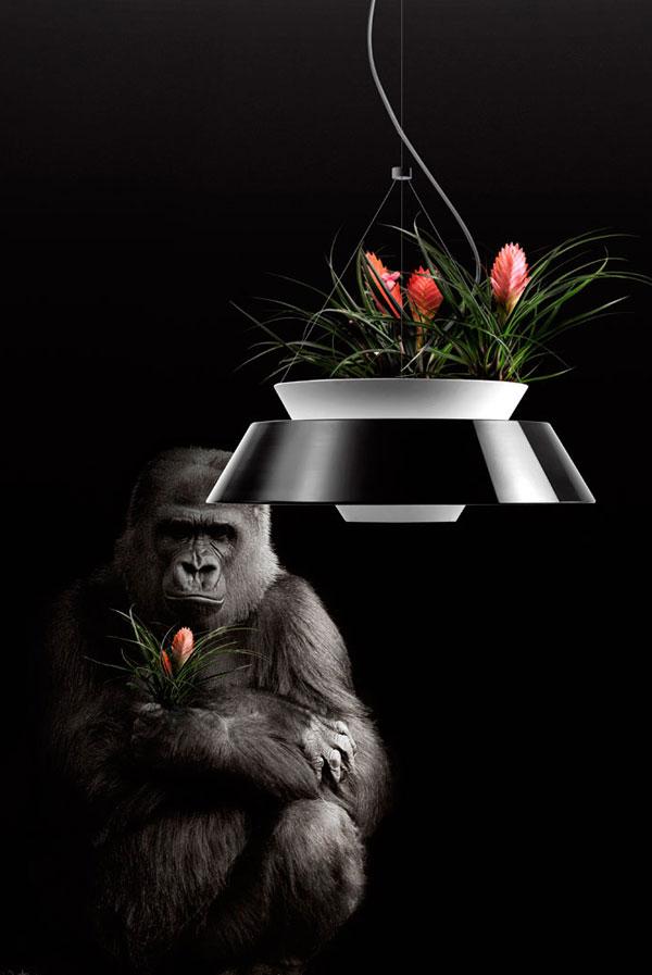 Flower Pot Lighting: pendant lamp Eden by Torremato
